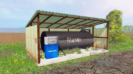 Gas station para Farming Simulator 2015