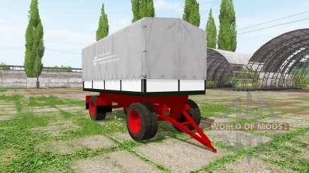 Tilt trailer para Farming Simulator 2017
