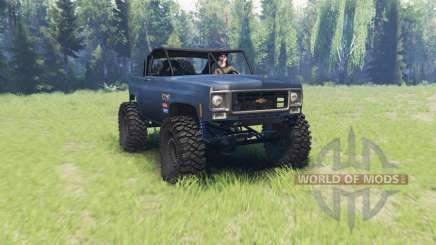 Chevrolet K5 Blazer crawler v2.0 para Spin Tires