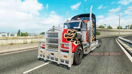 Kenworth W900 v1.1 para Euro Truck Simulator 2