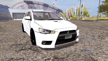 Mitsubishi Lancer Evolution X v2.0 para Farming Simulator 2013