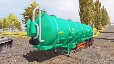 Aguas-Tenias tank manure v2.0 para Farming Simulator 2013