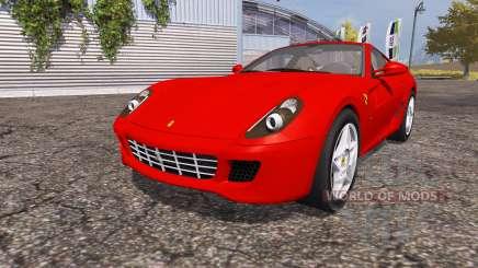 Ferrari 599 GTB Fiorano para Farming Simulator 2013