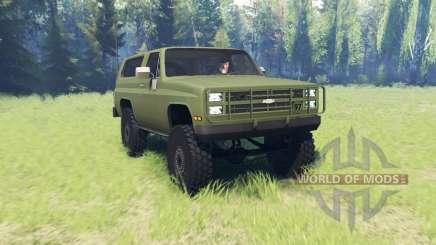 Chevrolet K5 Blazer M1009 para Spin Tires