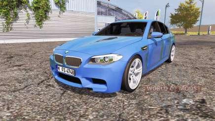 BMW M5 (F10) v2.0 para Farming Simulator 2013