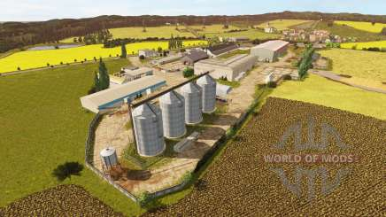 De la región occidental de la v1.1 para Farming Simulator 2017
