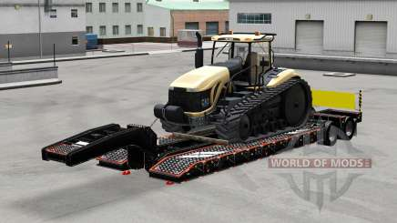 Bajo el barrido con los bienes v3.0 para American Truck Simulator