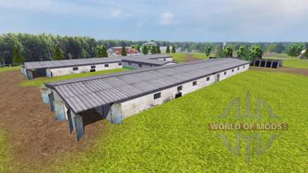 Ucraniano granja colectiva para Farming Simulator 2013