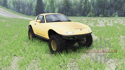 Mazda Miata 4x4 1997 para Spin Tires
