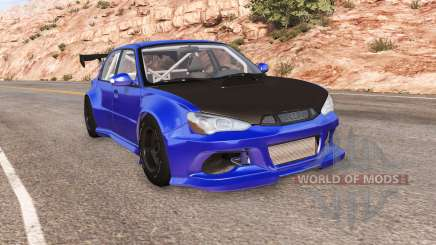Hirochi Sunburst widebody para BeamNG Drive
