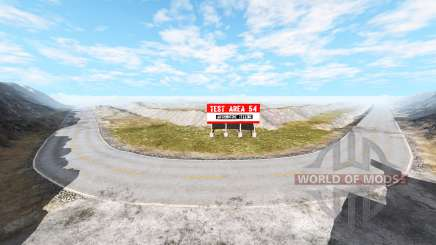 Test area v1.0.2 para BeamNG Drive