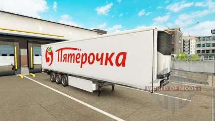 Extrime trailers pack v1.5 para Euro Truck Simulator 2