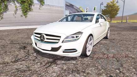 Mercedes-Benz CLS-Klasse (C218) v2.0 para Farming Simulator 2013