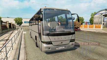 Una colección de autobuses en el tráfico de v1.3 para Euro Truck Simulator 2