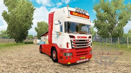 Scania R-series V8 Mulder para Euro Truck Simulator 2