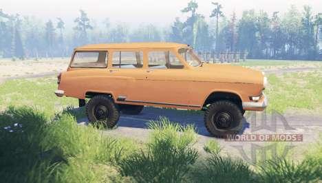 GAZ 22 Volga para Spin Tires
