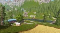 Goldcrest mountains v2.5 para Farming Simulator 2017