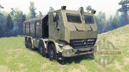 Mercedes-Benz Actros HABRV para Spin Tires