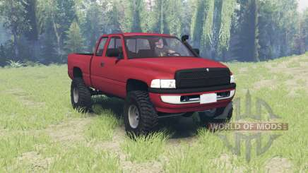 Dodge Ram 2500 Club Cab 2000 para Spin Tires