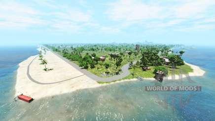 Cadort island v1.2.1 para BeamNG Drive
