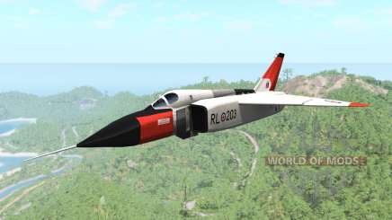 Avro CF-105 Arrow para BeamNG Drive