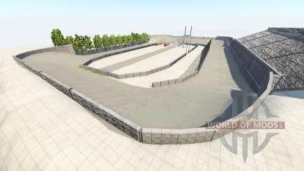 Death oval v1.1 para BeamNG Drive