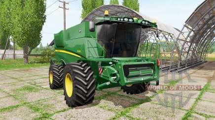 John Deere S690i para Farming Simulator 2017