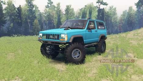 Jeep Cherokee (XJ) 1990 para Spin Tires
