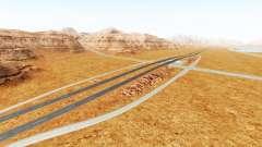 Interstate highway para BeamNG Drive