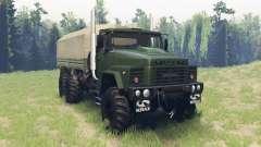 Kraz 260 para Spin Tires