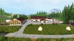 Dos ríos v1.1 para Farming Simulator 2015