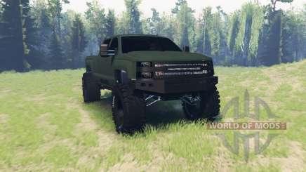 Chevrolet Silverado 3500 HD Crew Cab para Spin Tires