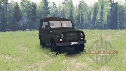 UAZ 469 1971 para Spin Tires