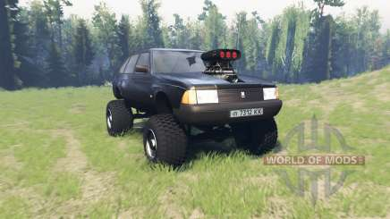 Moskvich 2141 Varan para Spin Tires