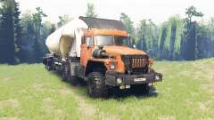 Ural 44202 para Spin Tires