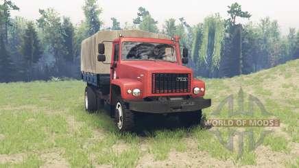 GAZ 3308 Sadko v2.1 para Spin Tires