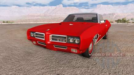 Pontiac GTO 1969 para BeamNG Drive