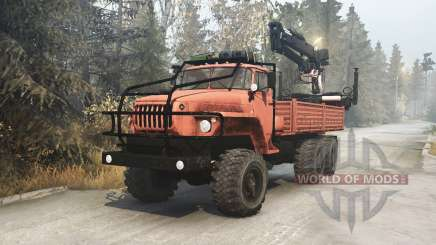 Ural 4320-41 para MudRunner