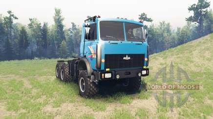 MAZ 6425 para Spin Tires
