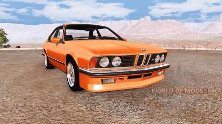 BMW M635 CSi (E24) v2.0 para BeamNG Drive