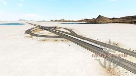 Bonneville Salt Flats v1.2 para BeamNG Drive