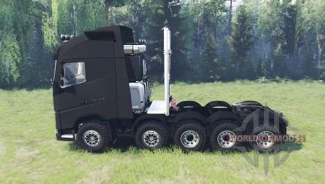 Volvo FH16 10x10 para Spin Tires