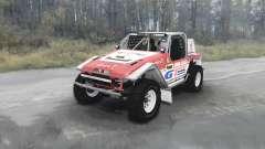 Toyota Land Cruiser FJ40 Serigala Militia v1.01 para MudRunner
