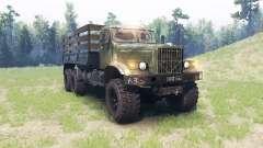 KrAZ 255 v3.0 para Spin Tires