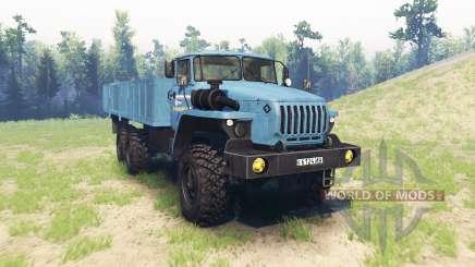Ural 4320 v2.0 para Spin Tires