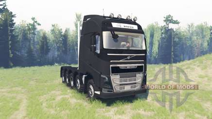 Volvo FH16 10x10 para Spin Tires