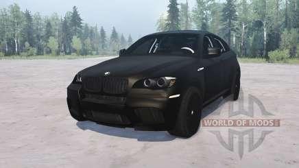 BMW X6 M para MudRunner