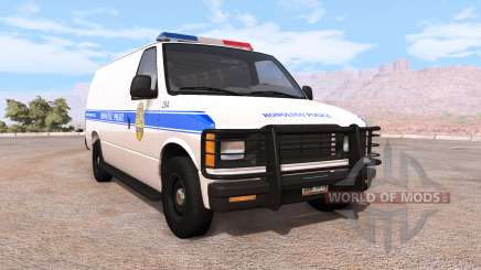 Gavril H-Series honolulu police v1.02 para BeamNG Drive