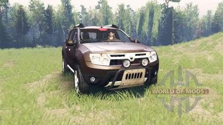 Dacia Duster para Spin Tires