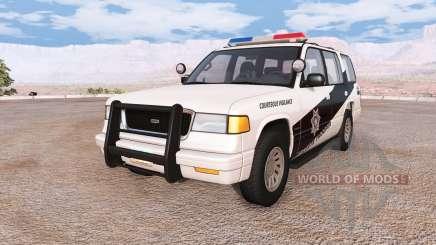 Gavril Roamer arizona state police v1.5 para BeamNG Drive